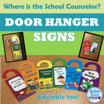Where are you? ~ Door Hanger Signs
