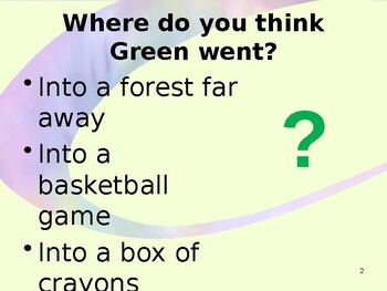 Where did Green go?