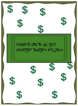 Where did it all go?  Integers Budget Project
