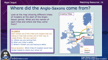 Where did the Anglo-Saxons come from? (Lesson)