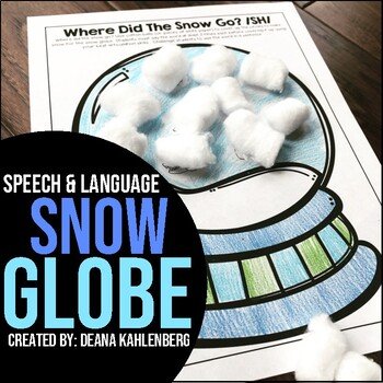 Where did the SNOW go? {Articulation}