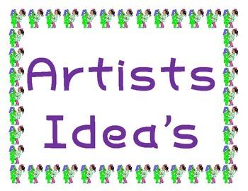 Where do Artists Ideas come from