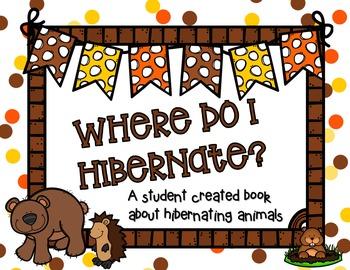 Where do I Hibernate? {a make and take book for students)