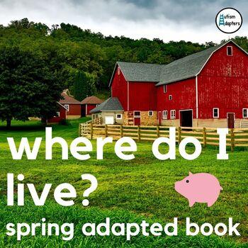 Where do I live? Adapted Book Leveled Bundle