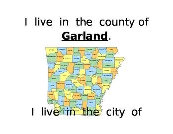 Where do I live? book