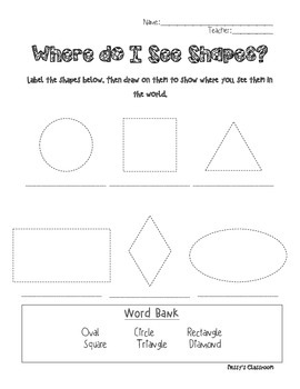 Where do I see Shapes