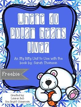 Where do Polar Bears Live?  Freebie