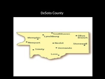 Where do YOU live? Part 2- DeSoto County, Ms