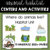 Where do animals live? 11 habitats, animals, minibooks, 206p.!