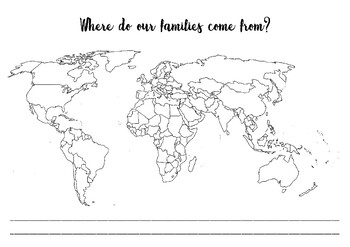 Where do our families come from?