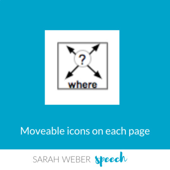 Where do we go- Interactive Core Vocabulary book