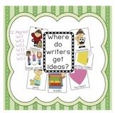 Where do writers get ideas?