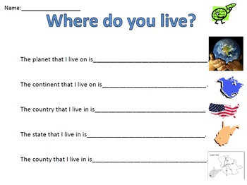 Where do you live?-Geography
