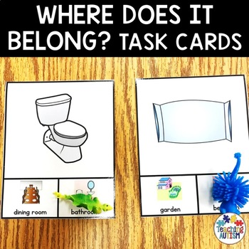 Where does it belong? Category Sorting Task Cards