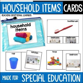 Household Items Task Card Set