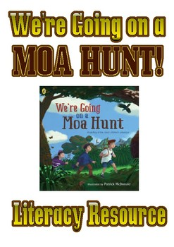 Where going on a Moa Hunt - Shared Reading Resource