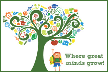 Where great minds grow! - Poster or Banner