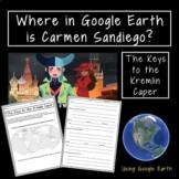 Where in Google Earth is Carmen Sandiego: Kremlin Caper