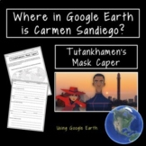 Where in Google Earth is Carmen Sandiego: The Tutenkhamun'