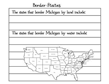Where in the US is Michigan?