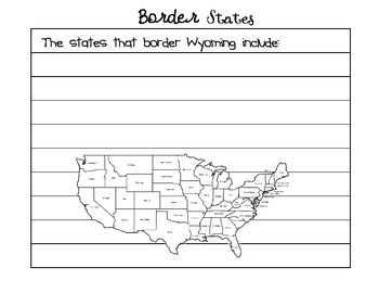 Where in the US is Wyoming?