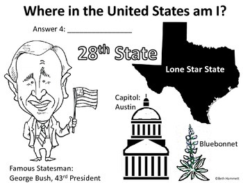 Where in the United States am I? A Facts-Based States Game (Pt. 1)