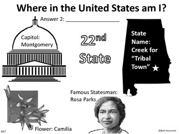 Where in the United States am I? A Facts-Based States Game (Pt. 2)