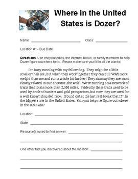 Where in the United States is Dozer?