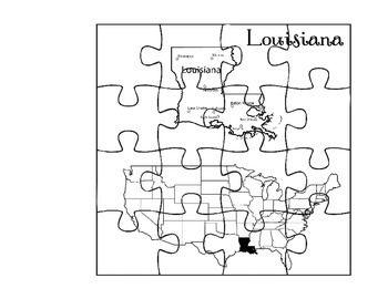 Where in the United States is Louisiana?