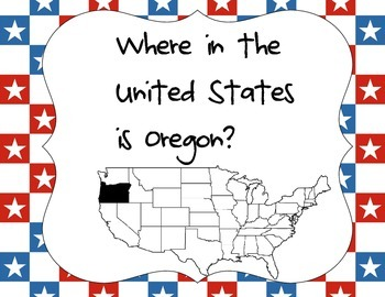 Where in the United States is Oregon?