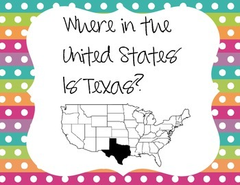Where in the United States is Texas?