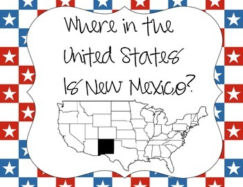 Where in the United states is New Mexico?