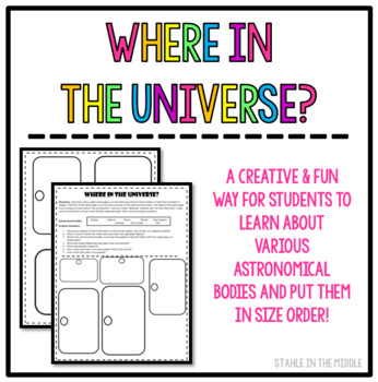 Where in the Universe Activity