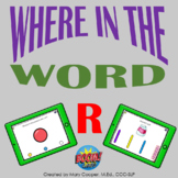 Where in the Word R for BOOM Cards