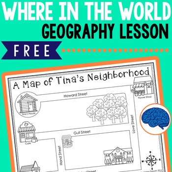 """""""Where in the World?"""" A free mini-geography unit for first grade"""