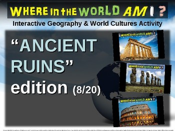 "Where in the World Am I? Fun Geography/Culture Game - ""ANCIENT RUINS"" (8/20)"
