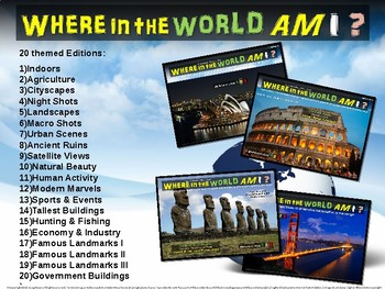 """Where in the World Am I? Fun Geography/Culture Game - """"ECONOMY/INDUSTRY"""" (16/20)"""