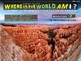 """Where in the World Am I? Fun Geography/Culture Game - """"LANDSCAPES"""" (5/20)"""