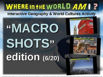 """Where in the World Am I? Fun Geography/Culture Game - """"MACRO SHOTS"""" (6/20)"""