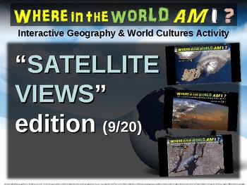"Where in the World Am I? Fun Geography/Culture Game - ""SATELLITE VIEWS"" (9/20)"