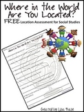 Where in the World Are You Located? Social Studies Quiz