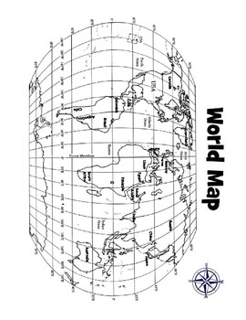 Where in the World? Coordinate Plane Extension Activity