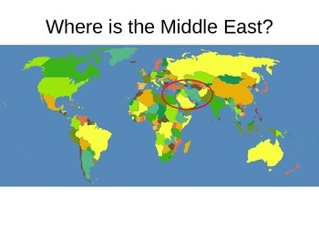 Where in the World - GPS Middle East Geography Features - Standard G5