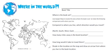 Where in the World? Geolocate your Reading