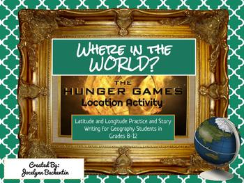 Where in the World Hunger Games Location Activity