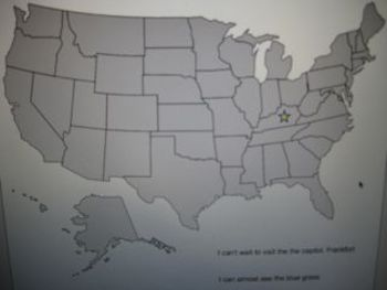 Where in the World - US Map Game