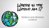 Where in the World am I? - Absolute and Relative Location Practice