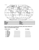 Where in the World is that Part of Speech? Latitude/longit