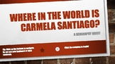 Where in the World is Carmela Santiago?  Adventure Eleven