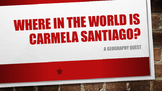 Where in the World is Carmela Santiago?  Adventure One